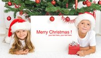 Wholesale 2016 Non woven Santa Claus hat for merry Christmas for
