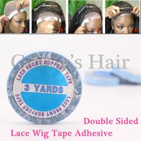 Wholesale double sided tapes yards cm adhesive tape hair extensions skin weft tape hair extension lace front wig tapes for weaving