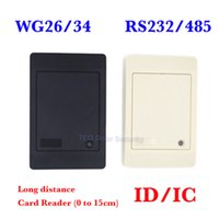 Wholesale Proxi RFID Card Reader Without Keypad WG26 Access Control RFID Reader RF EM Door Access Card Reader Customized RS232
