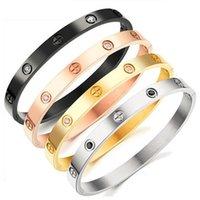 China fabricante personalizado de acero inoxidable joyería último diseño de amor para siempre brazaletes pulseras Pulsera de metal de las mujeres