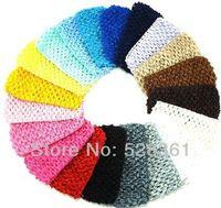 baby headbands bulk - Bulk Sale quot Cheap Low Price New Hot Crochet Baby Girl Headband Crochet Headwrap Headbands Headwear Assorted Colors
