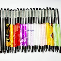 Wholesale 2015 New Style Permanent Manual Eyebrow Makeup Tattoo Machine Pen For D Embroidery Tattoo Supply Colorful
