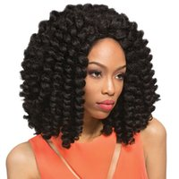 Wholesale Synthetic Ombre Marlybob Quick Weave Curl Crochet Braiding