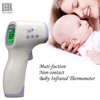 Wholesale Adult Baby Digital Infrared Thermometer Forehead Ears Body Termomete Gun Non contact Termometro Infantil Diagnostic tool Device