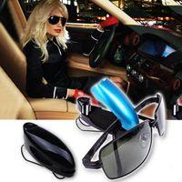 auto sunglass holder - Auto Fastener Car Glasses Holder Auto Vehicle Visor Sunglass Eye Glasses Business Bank Card Ticket Holder Clip Support
