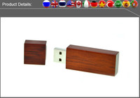 Wholesale Factory full capacity USB Flash Drives GB GB GB GB Memory Stick USB Flash Drive high quality chip and high speed wooden