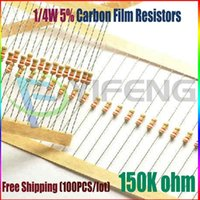Wholesale NEW K ohm W K Carbon Film Resistors Kohm W ROHS