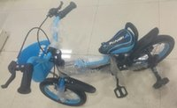 Wholesale Children s bicycles are equipped with anti rollover wheel by the professional manufacturers with high quality lightweight materials