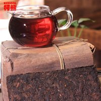 ancient chinese tea - 40 Years Old Pu er Ancient Tree g Chinese Tea Puer Shu Puerh Tea pu erh cha Ripe Pu erh Brick Tea for Fat Burning
