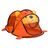 Wholesale Cartoon Animal Kids Tent Children Kids Indoor Outdoor Play House Folding Baby Toy Tent Cute Pattern Style In Stock