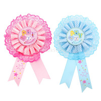 Party Favor award decorations - SPMART Baby Shower Award Ribbon Badge Party Favor Decoration