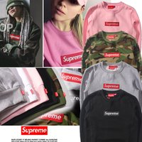 Wholesale 2017 Fashion Couples Suprem Ridnpid Hoodies Skateboard Men printed Suprem Hoodie Tracksuit Harajuku Casual Pullover Tops