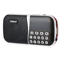 Wholesale Promotion Pocket Size FM Radio Functional Speaker Powered By Rechargable C Li ion Battery With TF Card Slot