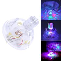 Wholesale New LED Underwater Floating Crazy Disco Show Ball Night Light Swimming Pool Party Spa