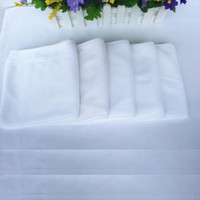 Wholesale 30cm cm Disposable towel White towel For Guesthouse Hotel Bathing Beauty salon Small Squre Solid Color Easy to air dry