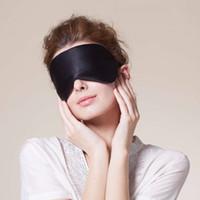 Wholesale Hopeforth Natural Silk Sleep Mask Blindfold Super Smooth Eye Mask Eyeshade