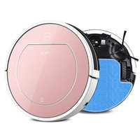 Wholesale 2016 ILIFE Wet Robot Vacuum Cleaner for Home Wet Dry Clean Water Tank Double Filter Ciff Sensor Self Charge V7S ROBOT ASPIRADOR