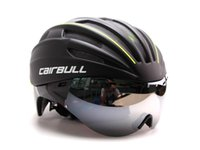 Wholesale Casco Ciclismo Eps Bike Bicycle Cycling Helmet Short tail Time Trial Aero Track With Glasses