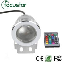 Wholesale RGB W V Led Underwater Light Colors LM Waterproof IP67 Fountain Pool Lamp Lighting Led Underwater Light