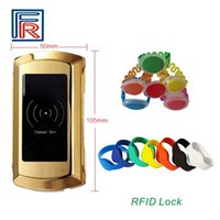 Wholesale 2017 Hot khz EM zinc alloy Swimming pools Water Park Cabinet Lock with Proximity RFID key card
