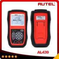 auto electrical testing - 100 original AUTEL Auto Link AL439 OBD II EOBD Scanner Electrical Test AutoLink AL Diagnostic Engine Code Reader