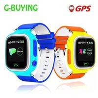 DHL GRATIS Q90 Niños GPS Tracker Pantalla táctil Smart Watch SOS Llame Ubicación Finder Dispositivo Tracker GPS Kid Safe Anti-lost Reloj
