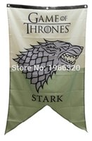Wholesale Game Of Thrones Stark Family Banner Flag X5