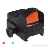 Wholesale Adjustable Brightness Aluminum alloy Red Dot Sight Scope Illuminated Tactical Riflescope Hunting Optics Reflex Lens
