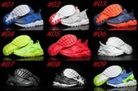 Wholesale 2017 Burst section New Air Huarache Ultra Breathe All Red Mesh Running Shoes Men Women Huaraches Trainer Athletics Sneakers Kids