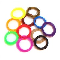 Wholesale 20 Bag Carton D Printer Pen Filament PLA mm D Printing Pen Material Color M bag