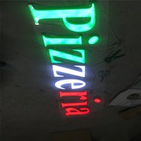 acrylic letters for signs - Factory Outlet Outdoor advertising Acrylic sign led letters for restaurant shop name signs
