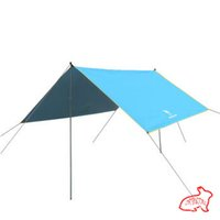 Wholesale In the spring of outdoor sunshade tent sunshade waterproof portable group four account blue khaki green free