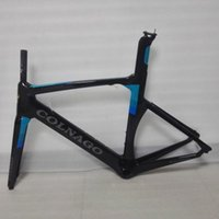 Wholesale Brand New Colnago CHLB Concept Road Bicyle Carbon Frame Carbon Bicycle Frame Size XXS XS S M L XL BB386 with BB adaptor Black blue