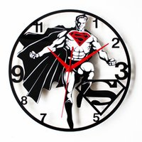 Wholesale Superman Superman Logo Creative Fashion Wall Clock