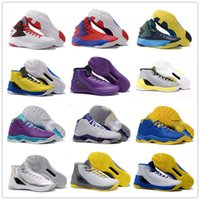 Wholesale 2016 Original Cheap Sale Boots Stephen Curry Mens Basketball Shoes for Top quality Sports Training Sneakers Size
