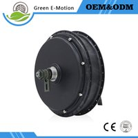 Wholesale Green E motion E bike motor v v W Brushless DC Hub Motor Electric Bicycle bike Mountain Bike Motor Wheel Disc Brake