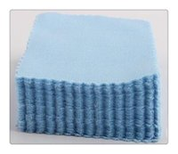 Paño de limpieza caliente de la microfibra de la venta del algodón para las lentes de la lente de las lentes de los vidrios del ordenador portátil de la computadora de la tableta de la pantalla del Lcd limpia