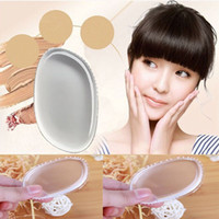 Wholesale Clear Powder Puff Transparent Silicone Face Foundation Tool Sponge Blender Silicone Powder Puff BB Cream Foundation Makeup Tools