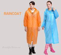 Wholesale High Quality One time Raincoat Fashion Hot Disposable PEVA Raincoats Poncho Rainwear Travel Rain Coat Rain Wear Travel Rain Coat
