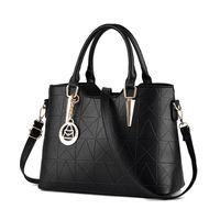 american sheet metal - High Quality PU Leather Female Bag Metal Sheets Decoration Handbags Sweet Ladies Elegant Luxury Women Shoulder Bags Bolsa Feminia HL014