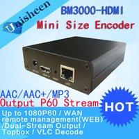 Wholesale H IPTV Encoder HDMI Video Encoder youtube Encoder ip rtmp video encoder live streaming