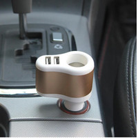 adapter socket suppliers - Mobile phone charger Mobile phone suppliers around USB Car Charger Car Cigarette Socket Car Charger Dual Adapter