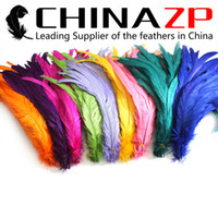 accessories roosters - CHINAZP Factory Exporting cm inch Length Good Quality Bleached and Dyed Rooster Tail Feathers Colors Available