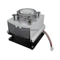 Wholesale mm Optical Glass Lens Reflector Bracket Aluminum Heatsink Cooling Fan Set for W W LED Degree or Degree