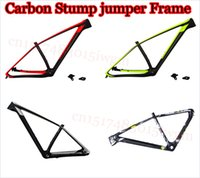 Wholesale Carbon Mountain Bike Frame er and er UD Glossy Matt Carbon Frame MTB Bike Frames New Guy Steps Cheap and Top Quality