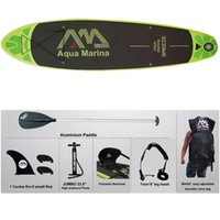 aqua sports boats - ater Sports Surfing cm AQUA MARINA BREEZE inflatable SUP stand up paddle board surf board surfboard boat fishing kayak pranchas