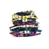 Wholesale 46 Style For Choose Rastaclat Galaxy Handmade Shoelace Bracelet Wristband Adjustable Ties CM Polyester One Size Fits Most DHL Ship