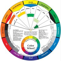 art color wheels - Tattoo Pigment Color Wheel Chart Supplies Art Paper Mix Studio Helpful Round