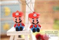 DHL expédition 16 Go / 32 Go / 64 Go / 128 Go / 256 Go Capacité réelle Mario Cartoon USB lecteur flash / pendrive / memory stick / USB Disque de stockage externe / U disque