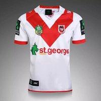 australian men - S XL Australian Rugby Jersey St George Illawarra DRAGONS Steelers MENS HOME JERSEY NRL Rugby jersey Mens Adults Drop shippin